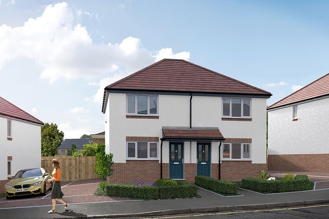 Thumbnail Semi-detached house for sale in The Carsington, Thornfield Mews, Chesterfield