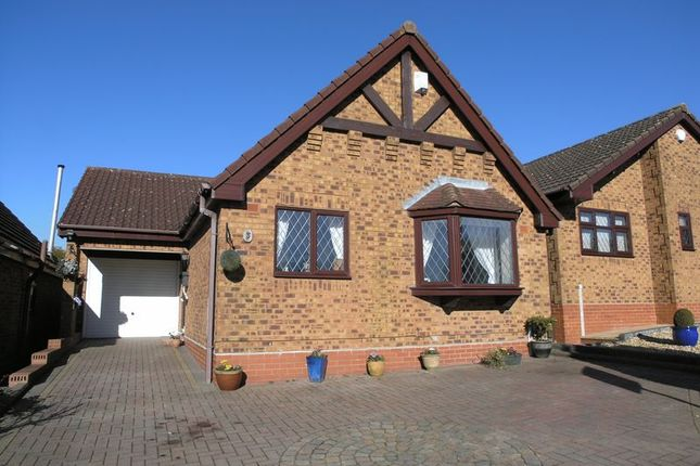 Thumbnail Detached bungalow for sale in Mission Close, Cradley Heath