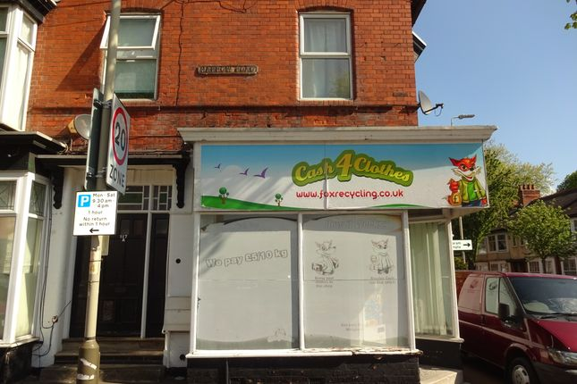 Retail premises to let in Harrow Road, Leicester