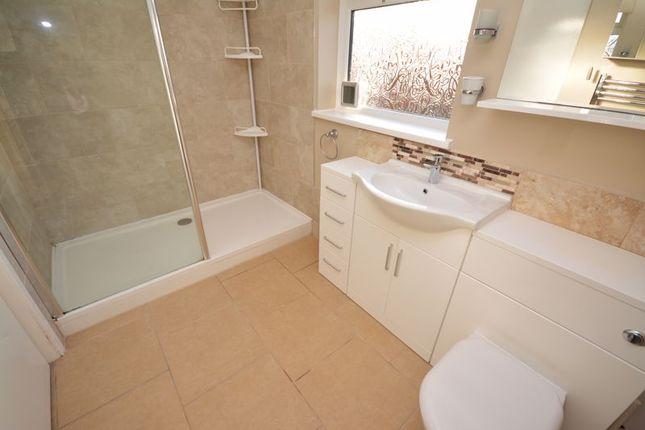 Shower Room of Elgar Crescent, Llanrumney, Cardiff CF3