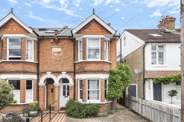 Thumbnail Semi-detached house for sale in St. Albans Road, Kingston Upon Thames