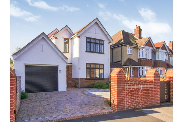 Thumbnail Detached house for sale in Luccombe Road, Upper Shirley, Southampton