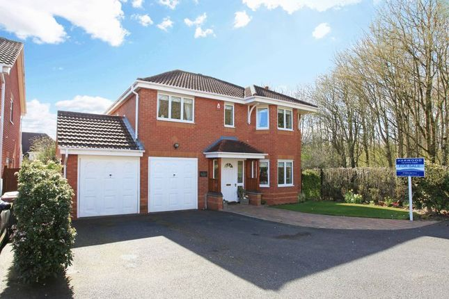 Thumbnail Detached house for sale in 9 Hookacre Grove, Priorslee, Telford