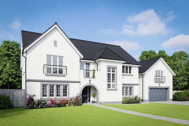 "Thumbnail Detached house for sale in ""Roxburgh"" at Kirk Brae, Cults, Aberdeen"