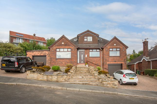 Thumbnail Detached bungalow for sale in Summershades Lane, Grasscroft, Oldham