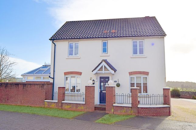 Thumbnail Link-detached house for sale in Myrtle Close, Willand