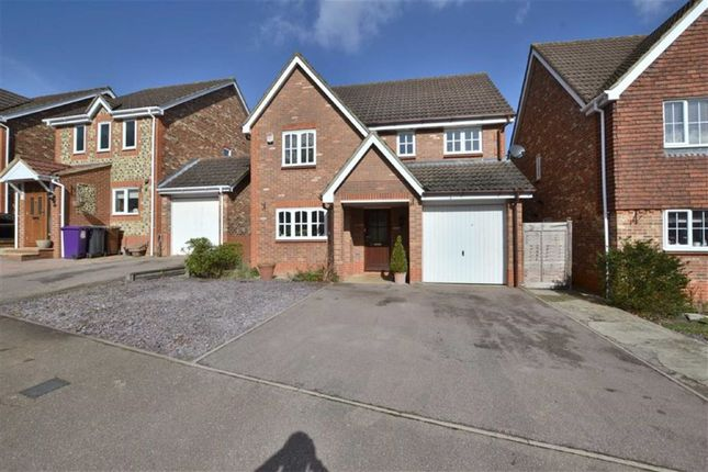 Thumbnail Detached house for sale in Thirlmere, Great Ashby, Stevenage, Herts