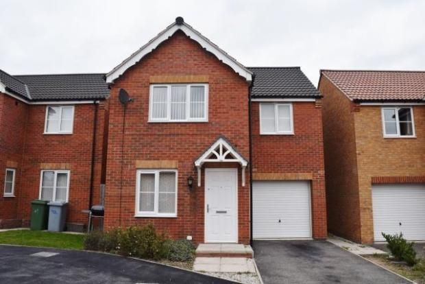 Thumbnail Detached house to rent in Claycross Drive, Clipstone
