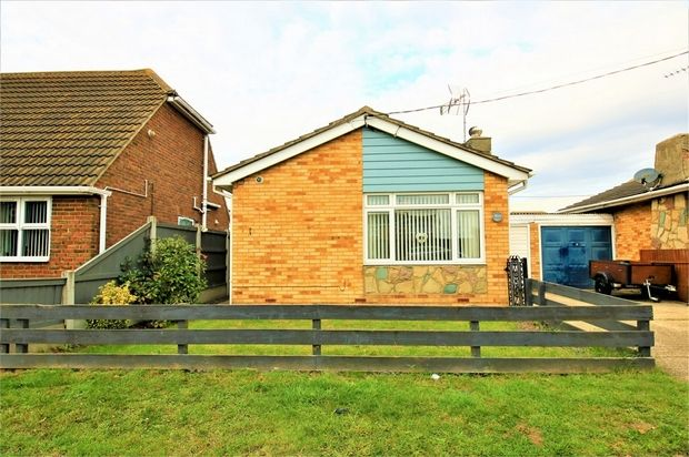 Thumbnail Detached bungalow for sale in Gafzelle Drive, Canvey Island, Essex