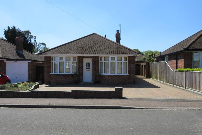 Thumbnail Detached bungalow for sale in Gurney Close, New Costessey, Norwich