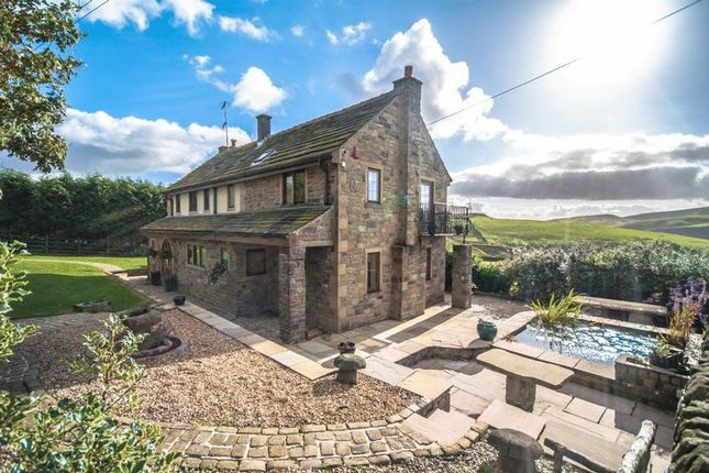 Thumbnail Detached house for sale in Calf Lee House, Warland, Todmorden