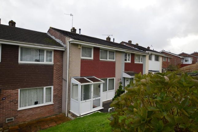 Thumbnail Terraced house to rent in Bradford Close, Plymouth, Devon