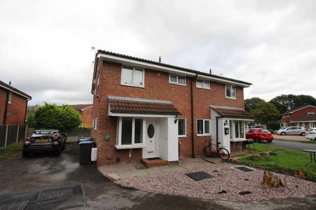 Thumbnail Semi-detached house to rent in Mansfield Close, Birchwood, Warrington