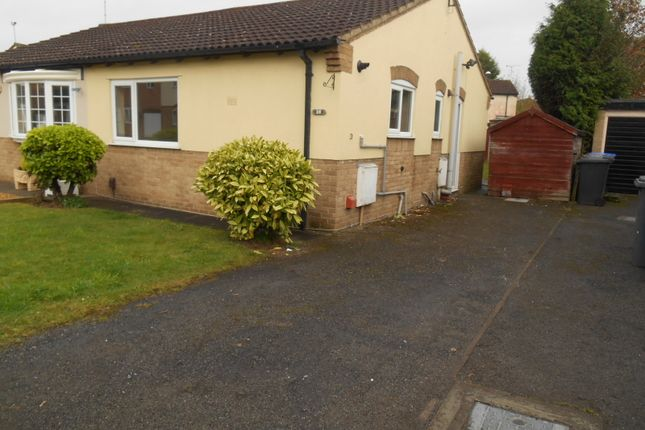 Thumbnail Semi-detached bungalow to rent in Thorness Close, Alvaston, Derby