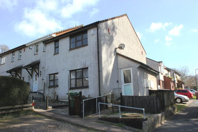 Thumbnail End terrace house for sale in Truro Drive, Badgers Wood, Plymouth