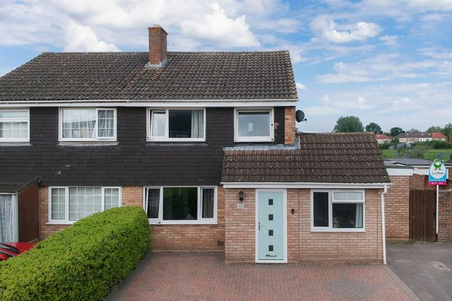 Thumbnail Semi-detached house for sale in Tiffany Close, Bletchley, Milton Keynes