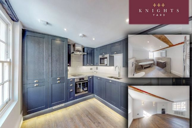 Thumbnail 3 bed flat for sale in Knights Yard, 8-10 Bell Street, Reigate, Surrey