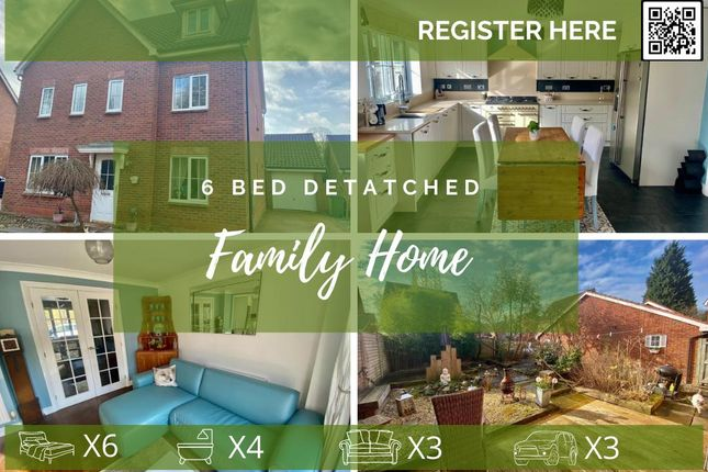 Thumbnail Detached house to rent in Fleming Drive, Winwick, Warrington, Cheshire