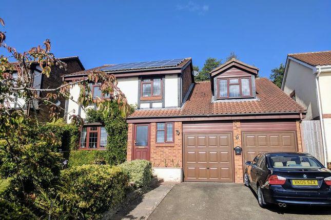 4 bed detached house for sale in Bangor Close, Hereford