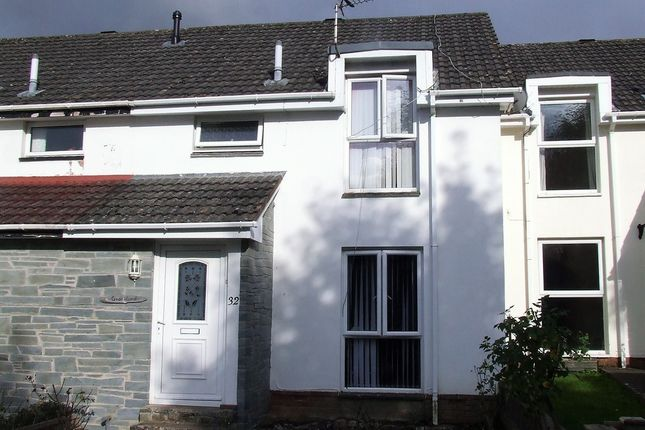 Thumbnail Terraced house to rent in Nursery End, Barnstaple