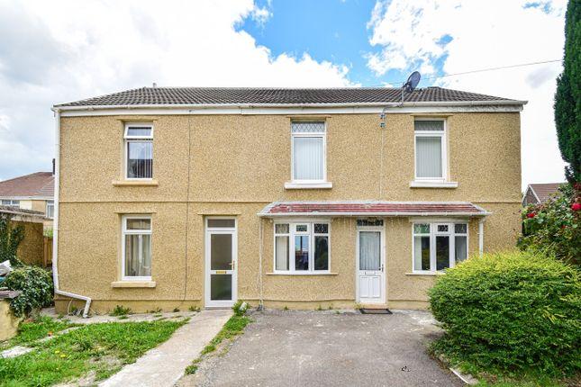 Thumbnail Semi-detached house for sale in Llangyfelach Road, Brynhyfryd, Swansea