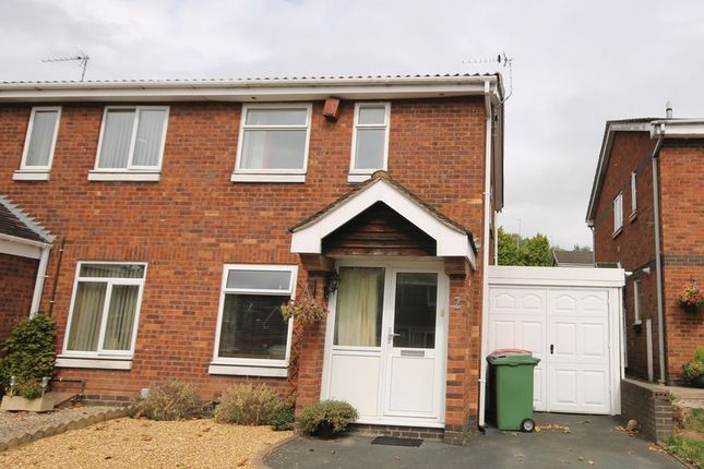 Thumbnail Semi-detached house for sale in Wroxeter Way, Stirchley, Telford