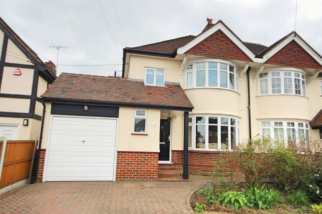Thumbnail 4 bed semi-detached house for sale in Beehive Lane, Chelmsford, Essex