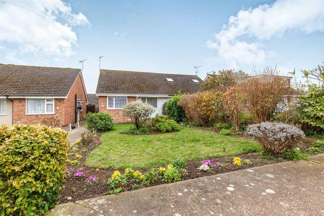 Thumbnail 2 bed semi-detached bungalow for sale in Bramble Drive, Hailsham