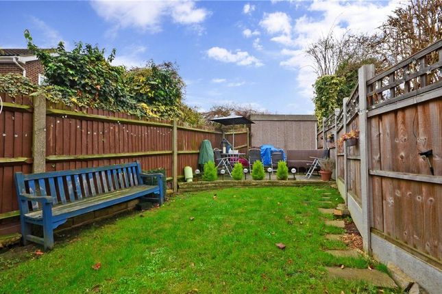 Thumbnail End terrace house for sale in Magnolia Way, Pilgrims Hatch, Brentwood, Essex