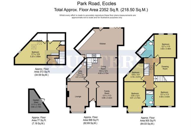 Thumbnail Semi-detached house for sale in Park Road, Monton, Manchester
