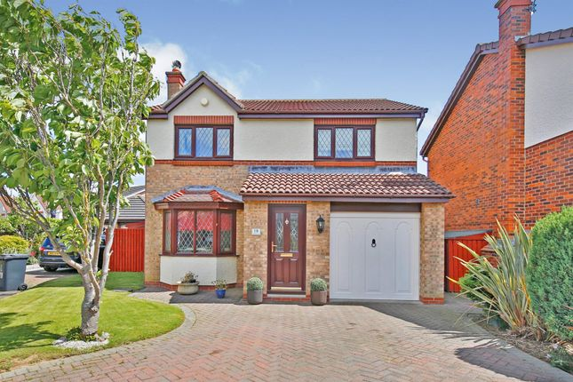 Thumbnail Detached house for sale in Fareham Close, Hartlepool