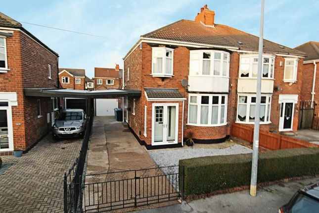 Thumbnail Semi-detached house for sale in Riversdale Road, Hull
