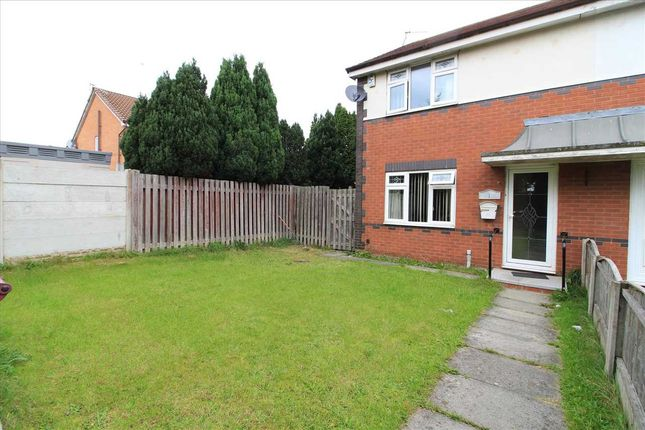 Thumbnail Semi-detached house for sale in Ampleforth Close, Kirkby, Liverpool
