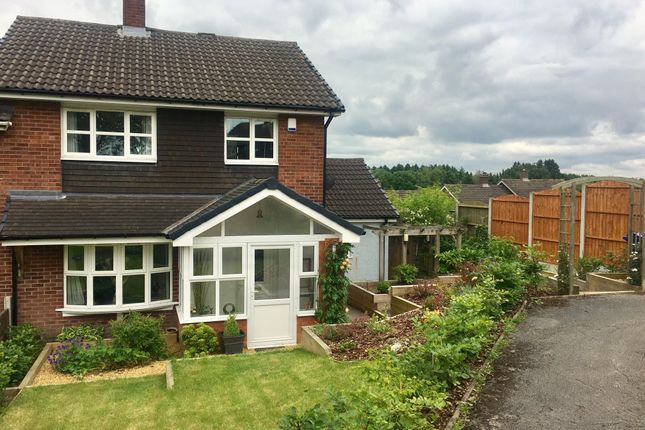 Thumbnail Semi-detached house to rent in Danby Drive, Cannock