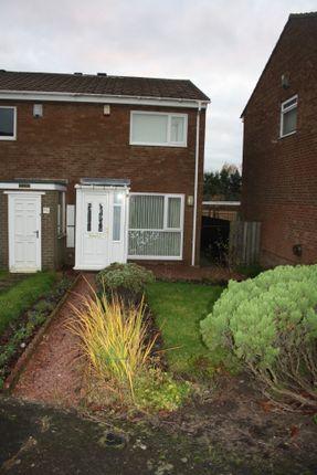 Thumbnail End terrace house to rent in Burnham Avenue, West Denton Park, Newcastle Upon Tyne