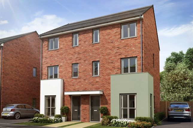 """Thumbnail Semi-detached house for sale in """"Greyfriars Varient """" at Mill Road, Aveley, South Ockendon"""