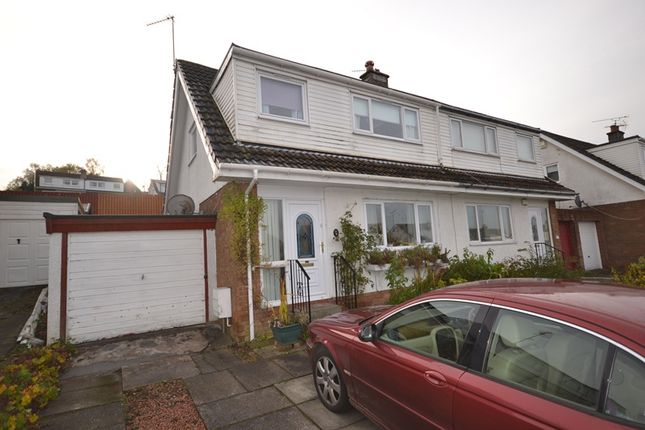 Thumbnail Semi-detached house for sale in St Ives Road, Moodiesburn