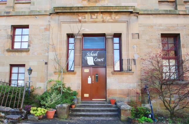 Entrance of School Court, Jean Street, Port Glasgow PA14