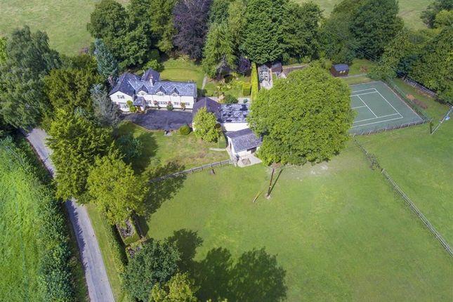 Aerial Views of Llanfechain SY22