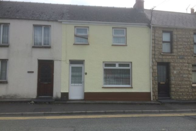 Thumbnail Terraced house to rent in Spring Gardens, Whitland