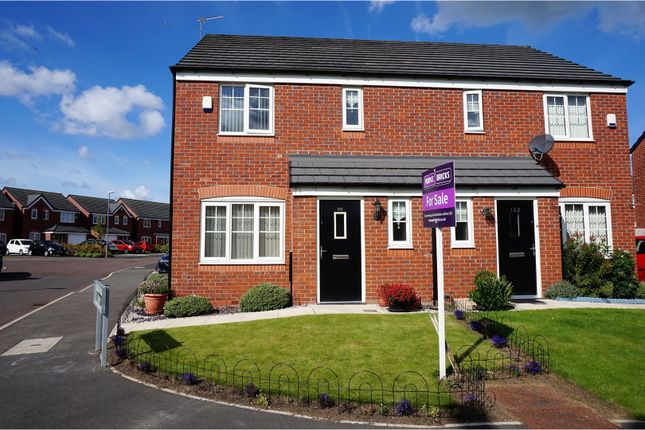 Thumbnail Semi-detached house for sale in Woodfarm Hey, Liverpool