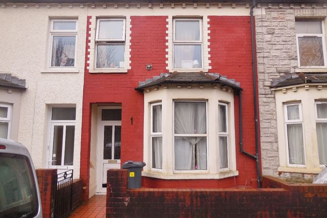 3 bed terraced house to rent in Blackweir Terrace, Cathays, Cardiff