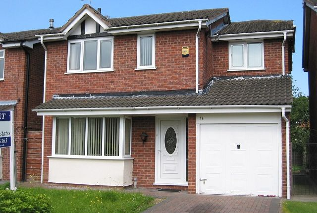 Thumbnail Detached house to rent in Sedgemere Avenue, Leighton, Crewe, Cheshire