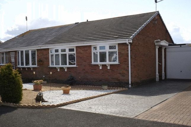 Thumbnail Semi-detached bungalow for sale in Till Grove, Ellington, Morpeth