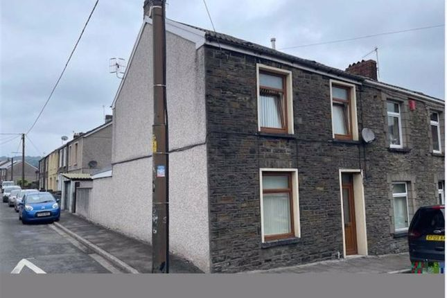 Thumbnail End terrace house for sale in Woodland Road, Mountain Ash