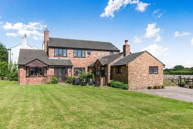 Thumbnail Detached house for sale in Stockley Lane, Lower Stretton, Warrington