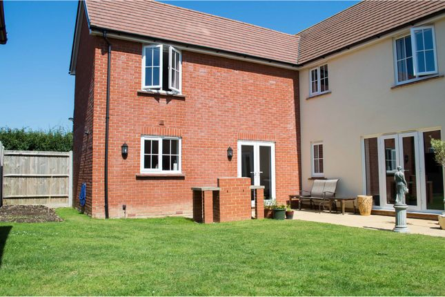 Thumbnail Detached house for sale in Brunel Drive, Hailsham
