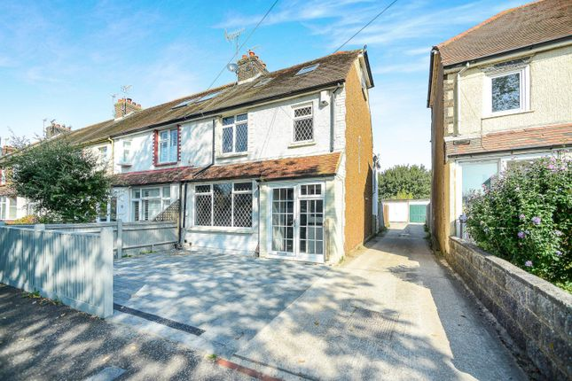 Thumbnail Semi-detached house to rent in The Gardens, Southwick, Brighton