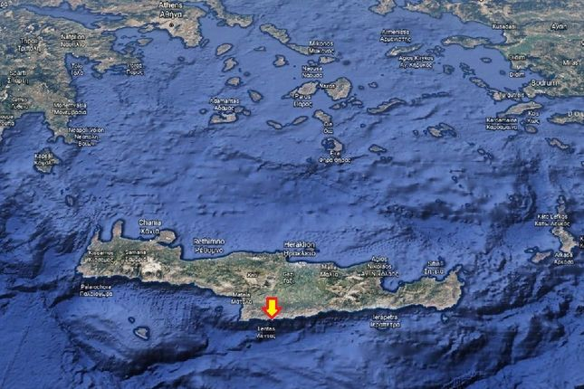 Thumbnail Land for sale in Land Plot For Sale 300.000 Sq.Meters, Lentas, Heraklion, Crete, Greece