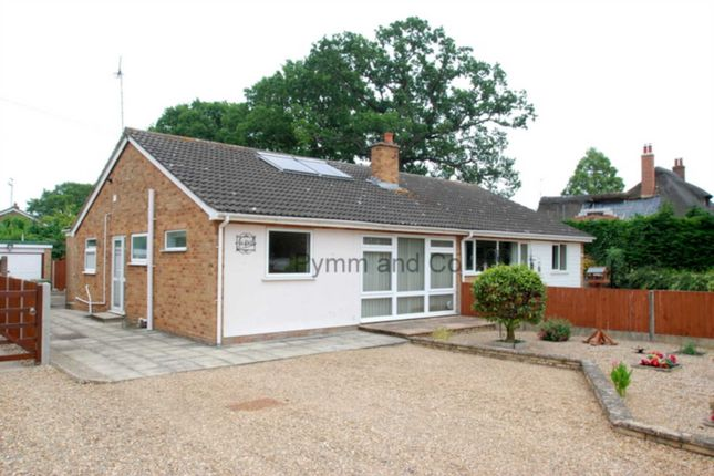 Thumbnail Bungalow to rent in Strumpshaw Road, Brundall, Norwich